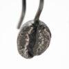 Coffee Bean Earrings Oxidised