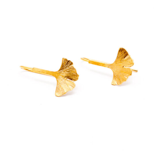 Ginkgo Earrings Au