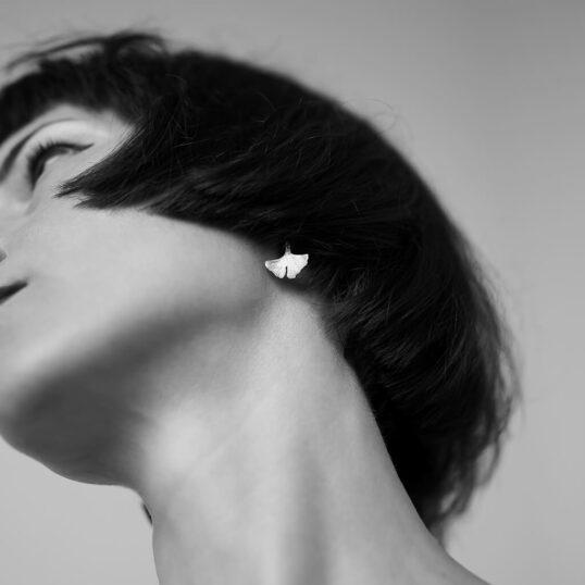 Ginkgo Earrings Au Portret